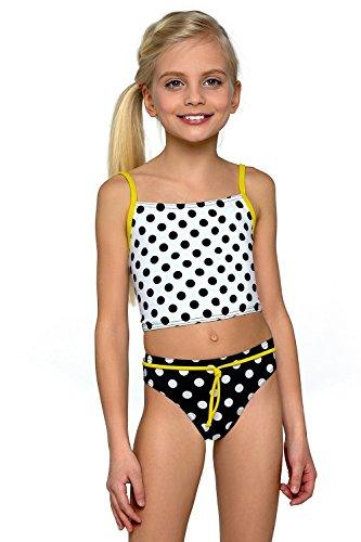 Kostüm Boxer Kid (Lorin Mädchen Tankini Modell: 54 (Muster-v1,)