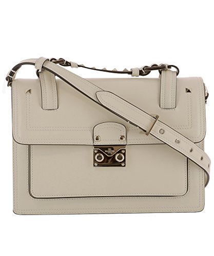 Valentino-Womens-MW2B0165VITI16-White-Leather-Handbag