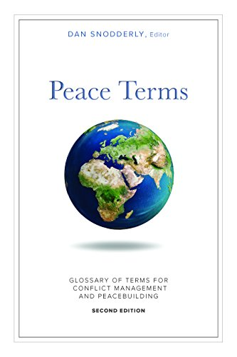 Peace Terms: Glossary of Terms for Conflict Management and Peacebuilding