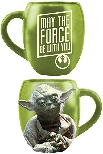 Star Wars Tasse Yoda May The Force Be With You Kaffeetasse XL Keramik Becher Mug