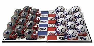 Rico New England Patriots/Indianapolis Colts Rivalität Checker Set
