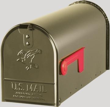 Original US-Mailbox Elite, Stahl