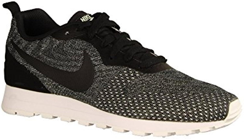 Nike Wmns Md Runner 2 Eng Mesh, Zapatillas de Running para Mujer, Negro (Black/Black/Igloo/White 003), 42.5 EU