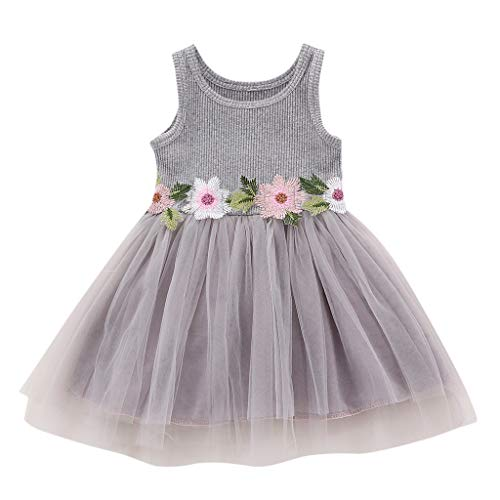 er Partykleid Cartoon Kirsche Gedruckt Party Prinzessin Kleider Geburtstag Hochzeit für kleine Mädchen Kinder Casual Kleid Sundress ()