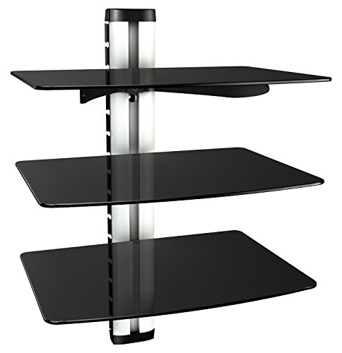 RICOO HiFi Rack DVD-S3XL Multimedia Regal aus