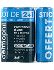 Dermophil Indien Protection Quotidienne Lèvres Lot de 3 x 4 g
