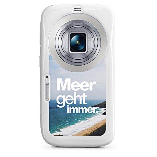 DeinDesign Samsung Galaxy K Zoom Hülle Silikon Case Schutz Cover Meer Sommer Sprüche