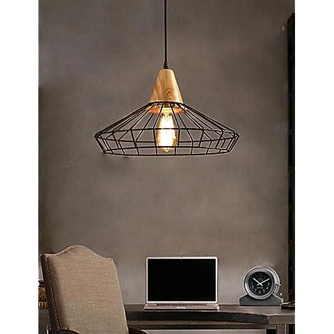 Illuminazione jiaily lampadari stile Mini tradizionale/Classic/Retro soggiorno/camera da pranzo e la sala di studio/Ufficio , metallo