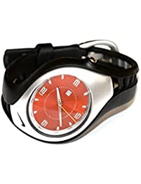 Para hombre Nike Triax Swift 3H reloj deportivo Negro Naranja wr0093