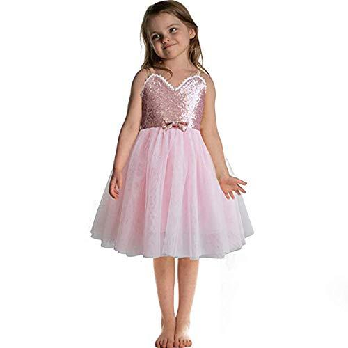 tkleid Kinder Ballettkleidung Tanz Trikot Tutu Rock Prinzessin Kleid Ballerina Fee Kostüm Trikot Turnanzug Gymnastikanzug Röckchen ()