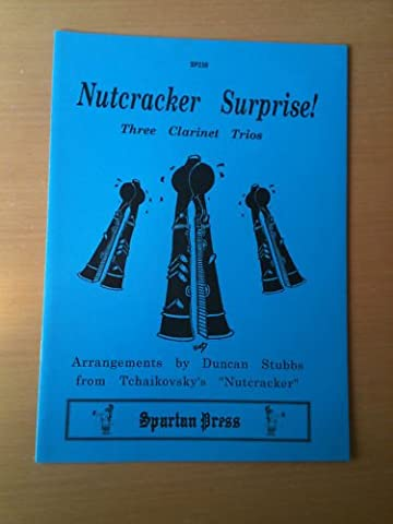 Nutcracker Surprise! Three Clarinet Trios