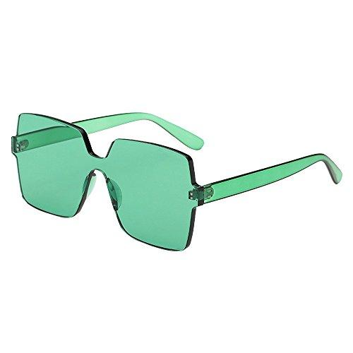 Battnot☀ Sonnenbrille für Damen Herren, Unisex Oversized Übergroße Vintage Form Rahmen Mode Anti-UV Gläser Sonnenbrillen Schutzbrillen Männer Frauen Retro Billig Sunglasses Women Eyewear Eyeglasses