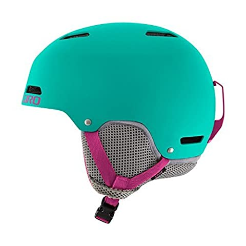 Giro Crue Snow Helmet - Kid's Turquoise/Magenta Medium by Giro