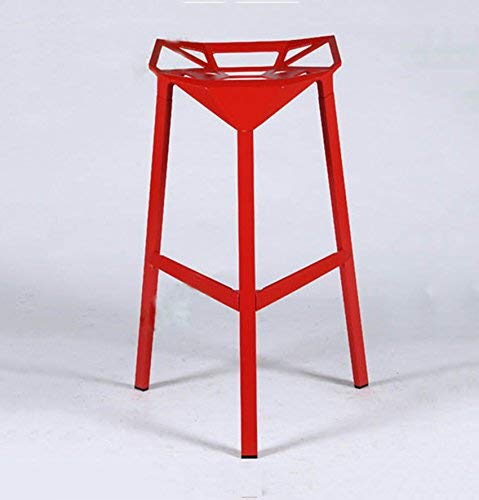Wood bench atmosferico fashion bar chair/sgabello, practical dining chair, leisure office chair,rosso