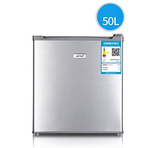 Refrigerador Coche 50l Sola Puerta De Plata Congelador