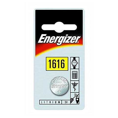 ENERGIZER Energizer CR1616 Lot de 2 piles bouton au lithium 3 V