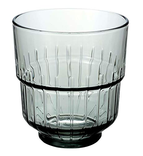 LinQ Double Old Fashioned Tumbler/12.25oz 350 ml - Fall von 12 - Cocktail Trinkgläser, Artis Libbey-whisky