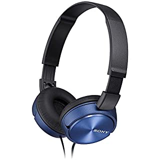 Sony MDRZX310L.AE  Foldable Headphones - Metallic Blue