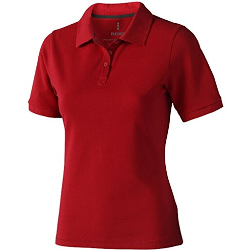 ELEVATE Polo Calgary Femme Rouge