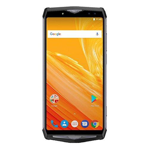 Hunpta@ Ulefone Power 5 Smartphone,Handys (6 Zoll Touch-Display,6 GB + 64 GB, Android 8,1 21.0MP + 5.0MP Rückfahrkamera,13+8.0MP Frontkamera) (Schwarz)