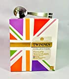 Twinings Union Jack Favourite Teas & Infusions Collection, spremiagrumi in acciaio inox, regalo perfetto