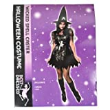 Costume Halloween Sorcière (Noir)