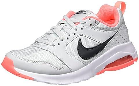 Nike Mädchen 869957-002 Turnschuhe, Grau (Pure Platinum / Anthracite / Lava Glow), 36 EU