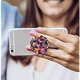 Servekart Pop Socket For Mobile Phones & Tablets with Prism Pattern ( Black )