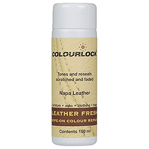 Colourlock Leather Fresh Dye for Ford interiors to repair scuffs, colour damages, light scratches on side bolsters and car seats (Light Sand 2004)