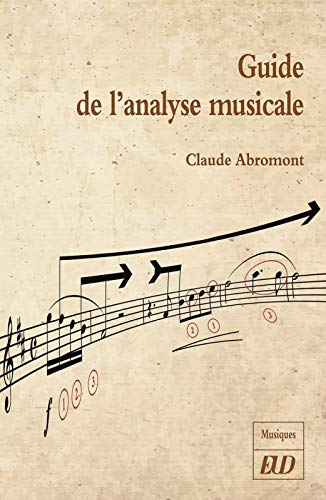 Guide de l'analyse musicale par  (Broché - May 30, 2019)