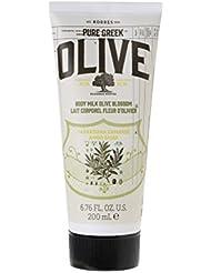 Korres Olive & Olive Blossom Körpermilch,1er Pack (1 x 200 ml)