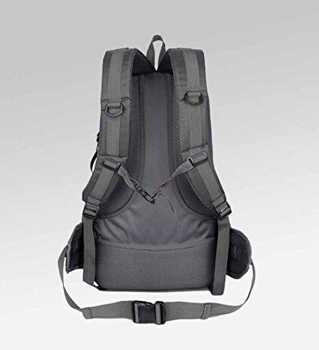 AllureFeng Outdoor Sport wasserdicht großen Kapazität Klettern Tasche Umhängetaschen für Männer und Frauen, Wanderrucksack Green
