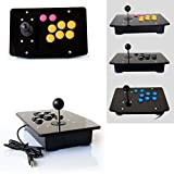 Cewaal DIY Arcade Machine Joystick Acrylic Panel + Case Shell Set Replacement Parts
