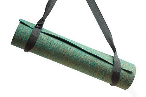 Zeller Active Yogamatte Tragegurt | Verstellbarer Trageriemen zum Transport von Pilates und Yogamatten | Baumwoll Gurt für alle Yoga Matten Größen (ohne Matte), Farbwahl