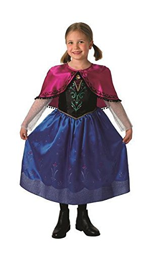 Anna Kostüm Deluxe Frozen - Kostüm - Anna Deluxe Frozen Child - Mädchen Größenwahl (Large)