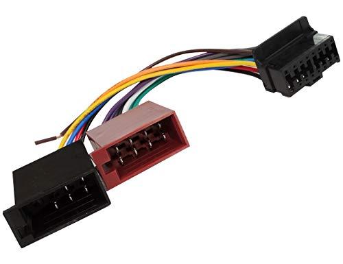 autostereo ISO Auto Radio st/ér/éo C/âble audio 15 107/Harnais standard ISO pour Pioneer deh-series