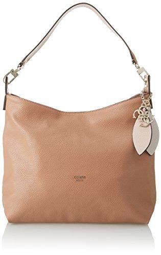 Guess Damen Bags Hobo Schultertasche, Braun (Tan), 9x30x43 centimeters (Taschen Guess Hobo)