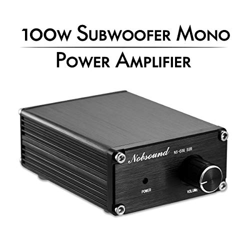Nobsound 100W Subwoofer/Full Frequency Mono Channel