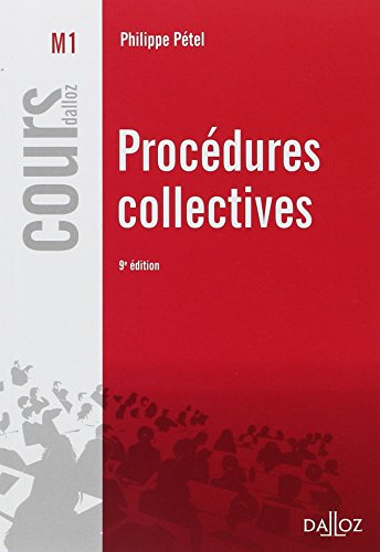 Procdures collectives - 9e d.