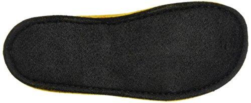 Haflinger Unisex-Erwachsene Flair Smily Pantoffeln Gelb (Mais)