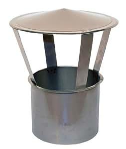 Chapeau de cheminée fiable / hotte cheminée / capuchon de cheminée - DN 180 mm