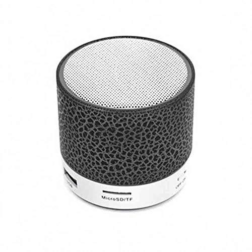 Bluetooth-Lautsprecher - Mini Crack mit Subwoofer-Plug-in-Bluetooth-Lautsprecher (Farbe : Schwarz) Aba Bluetooth