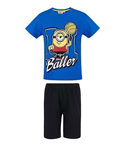 Minions Despicable Me Jungen Shorty-Pyjama - blau - 140