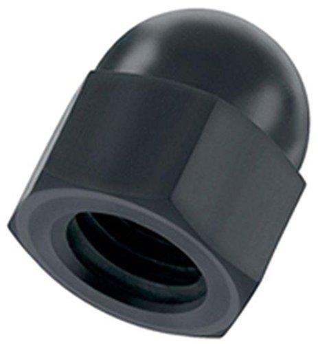 Kunststoff Hutmutter M10 schwarz Nylon 10 Stück