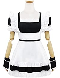 Classic Maid Cosplay Halloween Costume French Lolita Dress Halloween Costumes For Women
