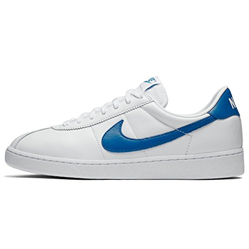 Nike Bruin Qs, Chaussures de Sport-Basketball Homme Blanco (White / Photo Blue-White)