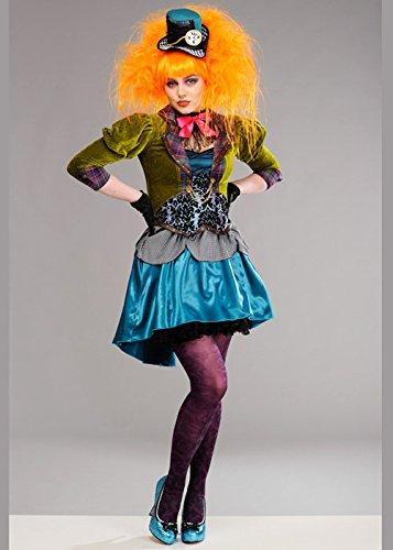Magic Box Int. Deluxe Deluxe Mad Hatter Kostüm für Erwachsene L (UK ()