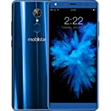 "Mobiistar X1 Dual/Android 8.1 Oreo/1.3 GHz Quad Core/5.7"" 18:9 HD+ Display/13MP+8MP Dual Selfie/13MP Rear Cam/Dual Sim/4G VoLTE/3GB/32GB/Blue"