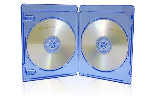 25x Discos de doble (2) Blu-ray 11mm cajas de almacenaje con logo diseño de dragón Trading Branded