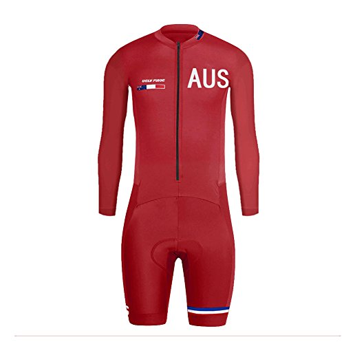 Uglyfrog 2018-S01 Bike Wear Neu Sommer/Frühling Herren Lange Ärmel Cycling Jersey Anzüge Radtrikot with Short Legs Skinsuit Sport & Freizei Clothes